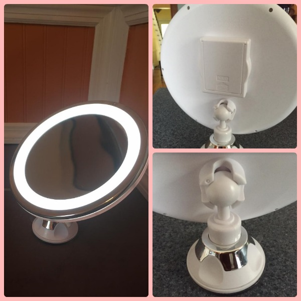 Mirrorvana 5x Magnifying Lighted Vanity Makeup Mirror