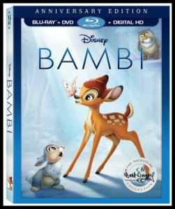 Bambi Celebrates Its 75th Anniversary on DVD/Blu-ray #DisneyAnimation