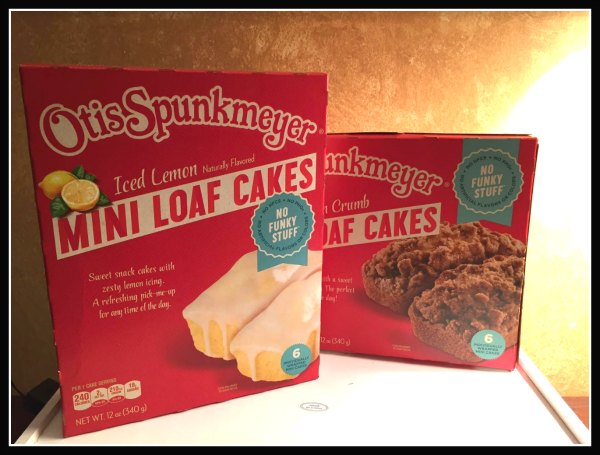 Otis Spunkmeyer Baked Goods With No Funky Stuff Review Ad