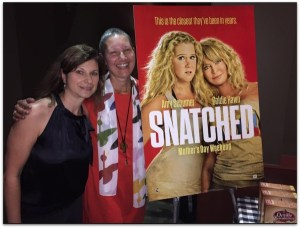 Snatched Time with Amy Schumer and Goldie Hawn  #SnatchedMOMS #SnatchedMovie