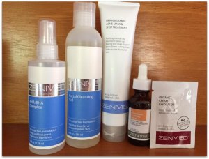 ZENMED Skin Care for Problem Skin #Review #Beauty