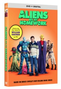 ALIENS ATE MY HOMEWORK on Digital and DVD #Ad #AAMH #Review