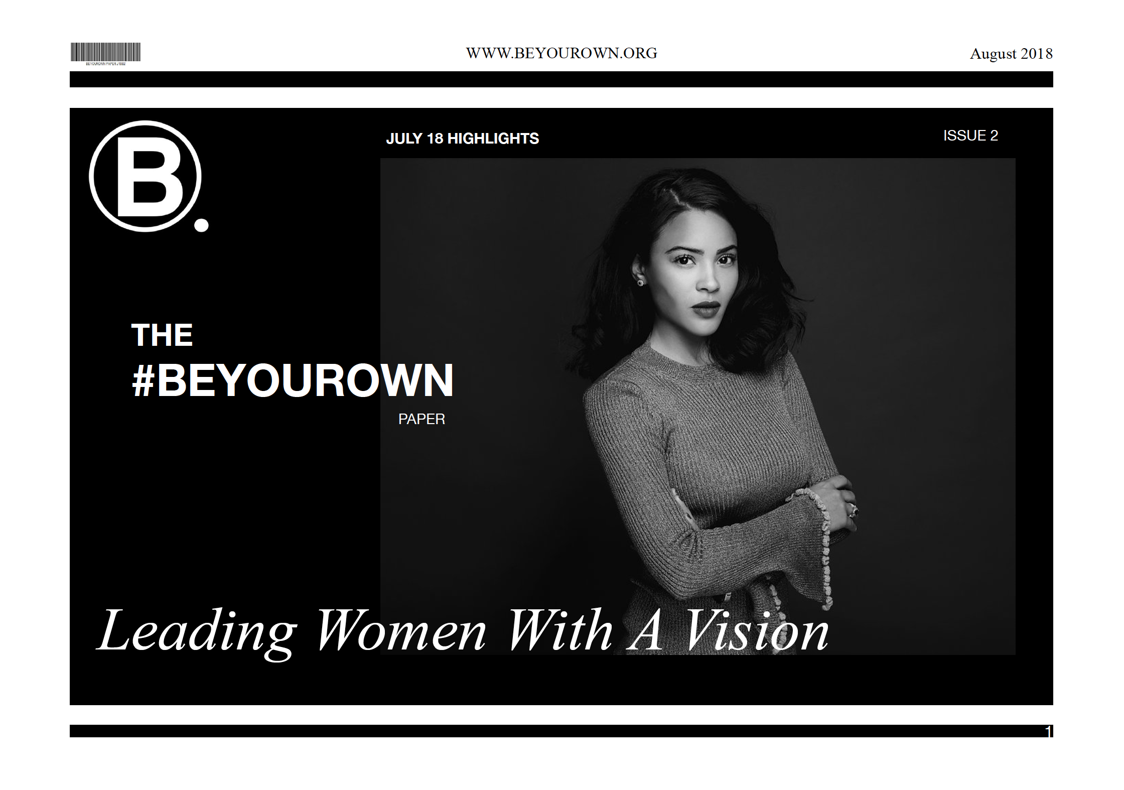 THE #BEYOUROWN PAPER