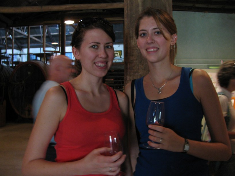 Wine tasting in the Outback