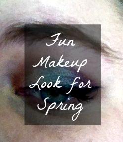 Fun Makeup Look for Spring