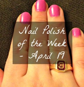 Nail Polish of the Week - April 19