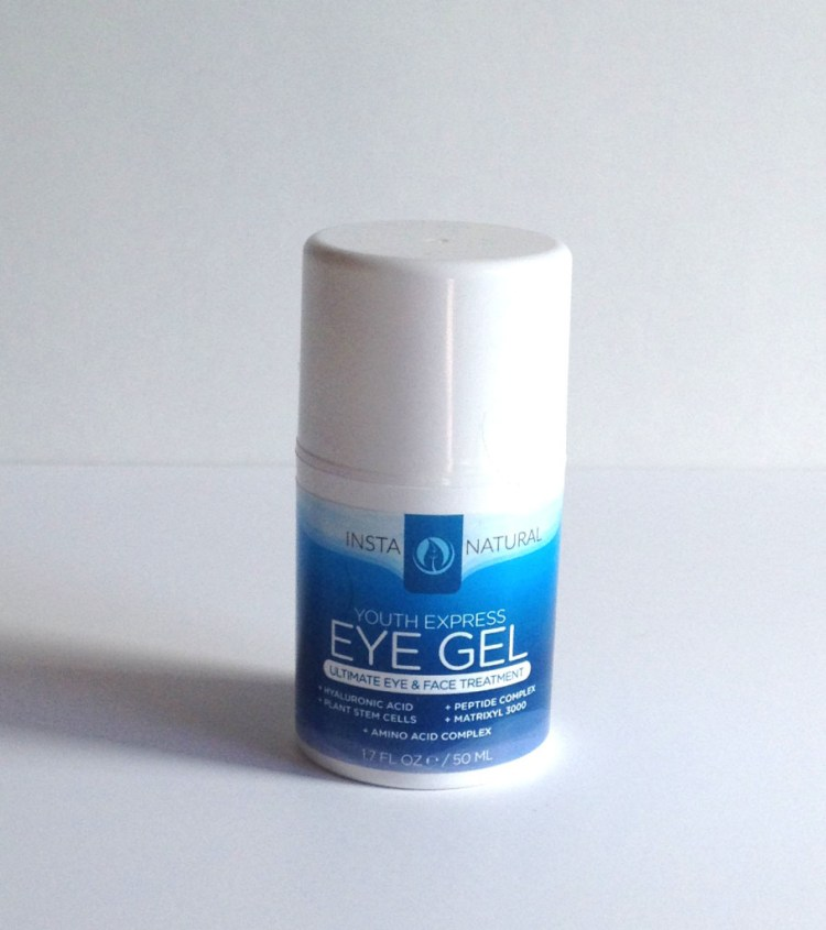 InstaNatural Youth Express Eye Gel Review - Beyoutiful Beauty