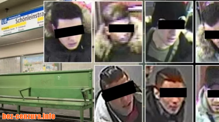 Ново зверство в берлинското метро! Бежанци искаха да изгорят жив човек (СНИМКИ)