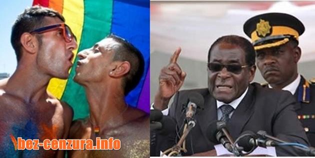 Президентът на Зимбабве прати гей двойка в затвора, ще лежат докато единият не забременее