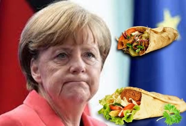 Меркел отвръща на удара!