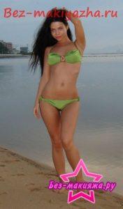 Певица Бьянка без макияжа
