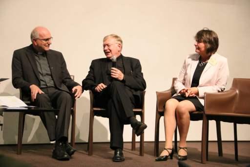 Pfr. Franz Götz, Dr. Dietmar Bernt und Margret Färber