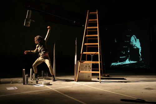 BADco. League of Time (2009), Photo: Lovro Rumiha