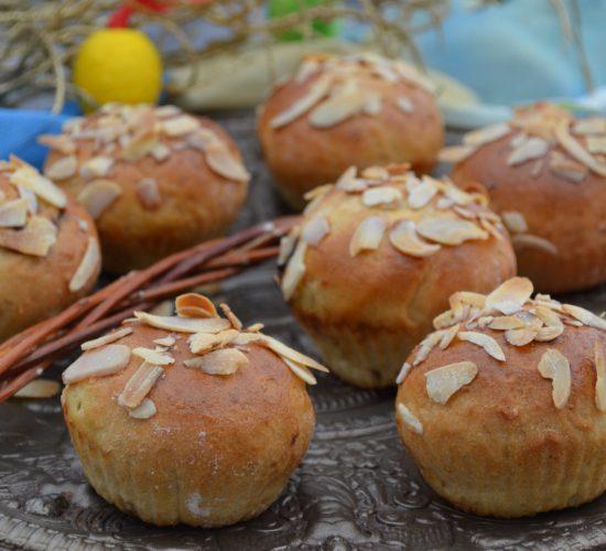 Kynuté muffiny s povidly
