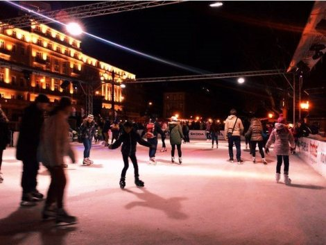 Ice ring, Bratislava
