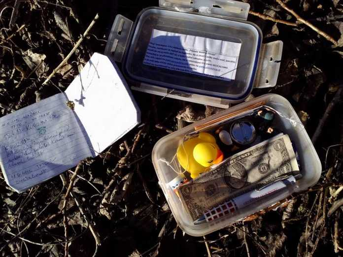 Offical Geocache and what is inside