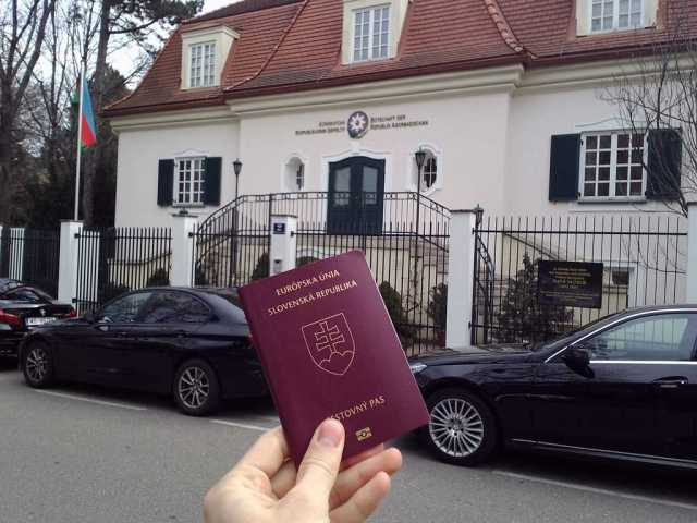 Azerbaian embassy Vienna
