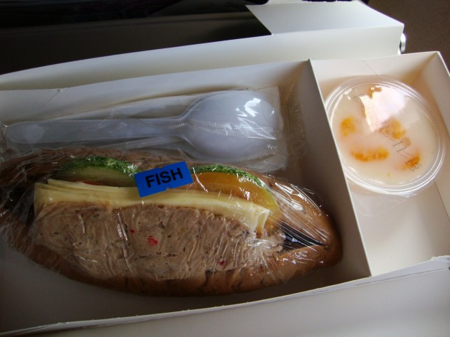 Malaysia Airlines food