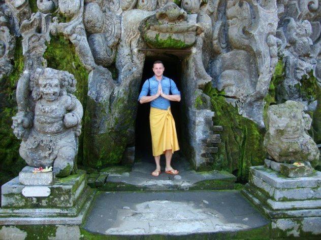 Goa Gajah chram Bali temple