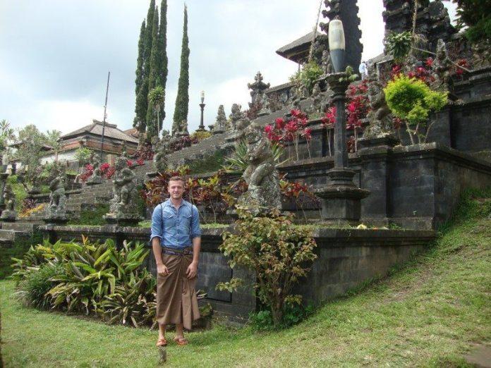 chram Pura Besakih temple Bali