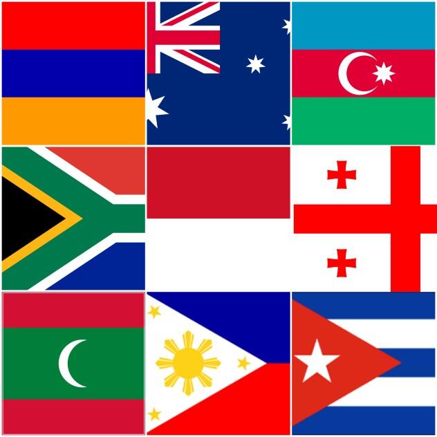 vlajky sveta
