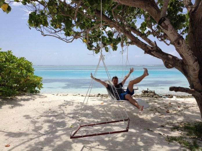 Backpacking na Maledivách