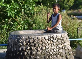 pitie vody na Filipínach