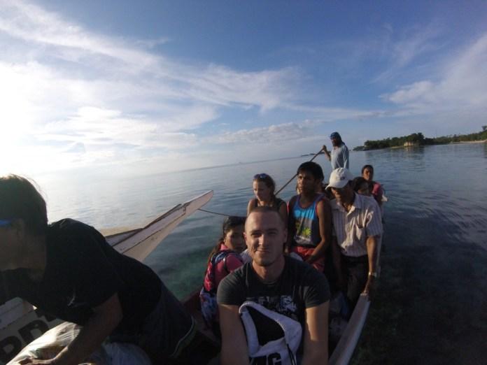 sólo cestovanie po Filipínach