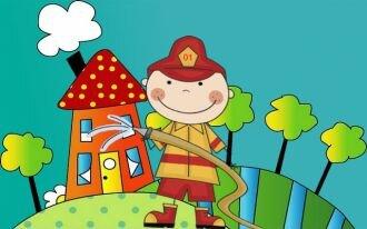 рисунки на тему пожар раскраска раскраски по пожарной