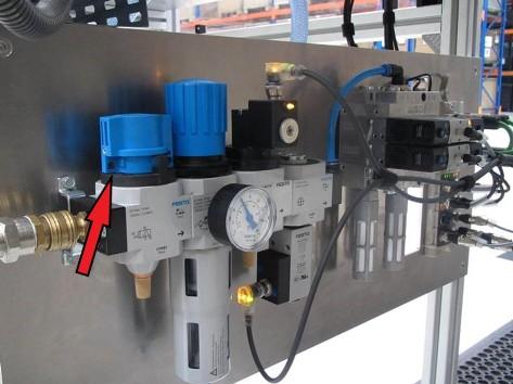 Niespodziewane uruchomienie - izolator energii pneumatycznej