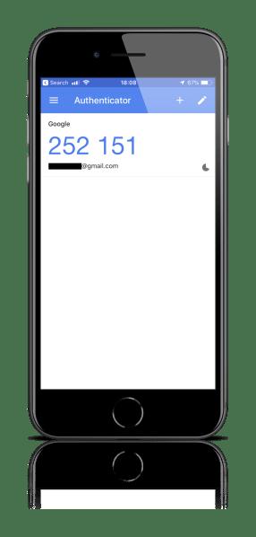 Dwuskładnikowe uwierzytelnienie z użyciem aplikacji Google Authenticator