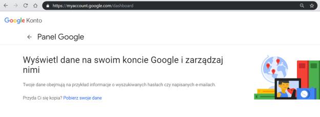 Obrazek przedstawiający podsumowanie danych w Google