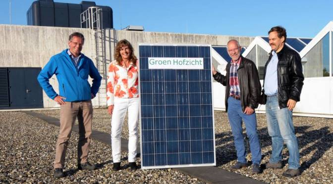 Website zonnepanelenproject Groen Hofzicht live