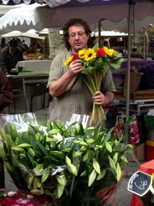 Saturday Market Uzes, France