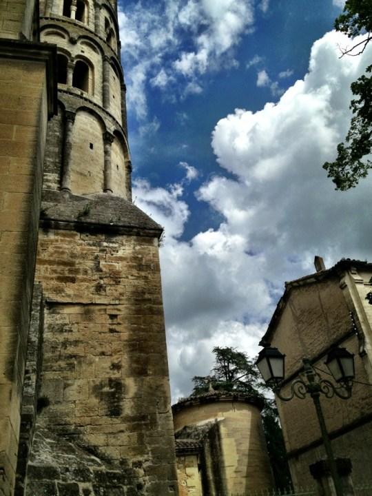 Uzes, France scene