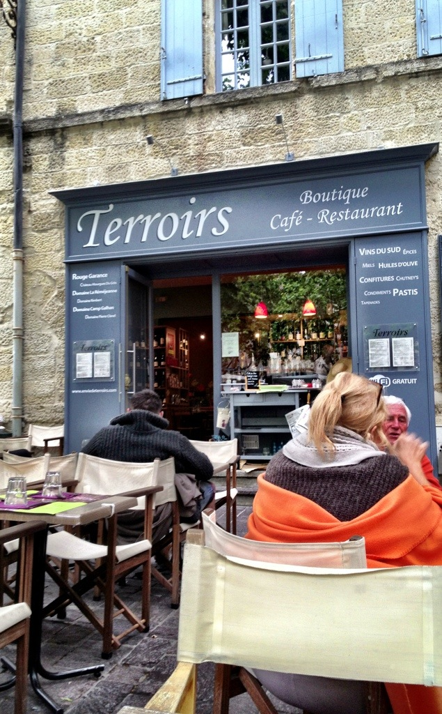 Terroirs in Uzes France