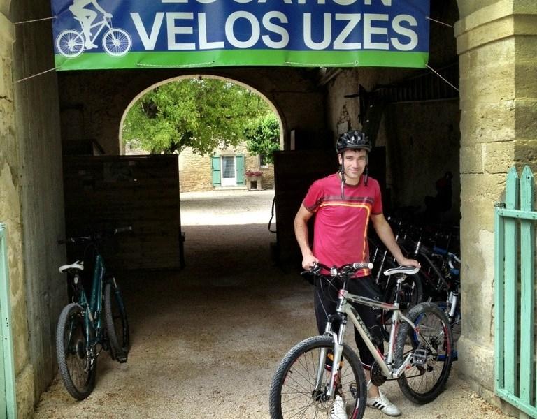 Bikes in Uzes France