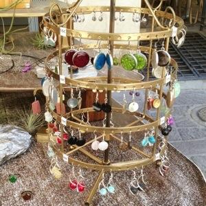 Sunday jewelry market in uzes France