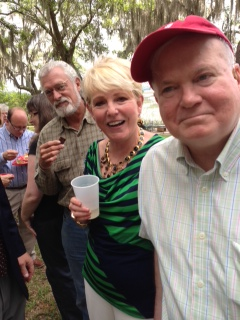 Pat Conroy, author, Beaufort, SC