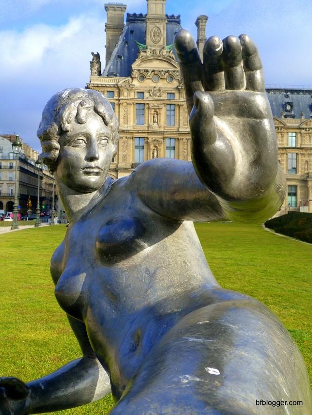 Jardin des Tuileries Statue