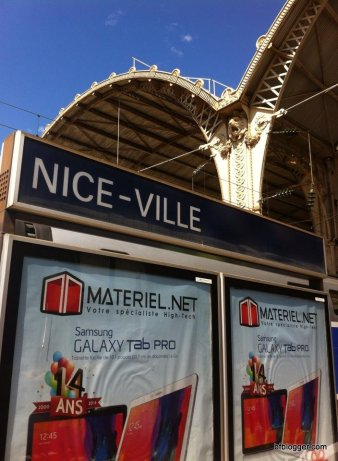 Traveling to Nice by train