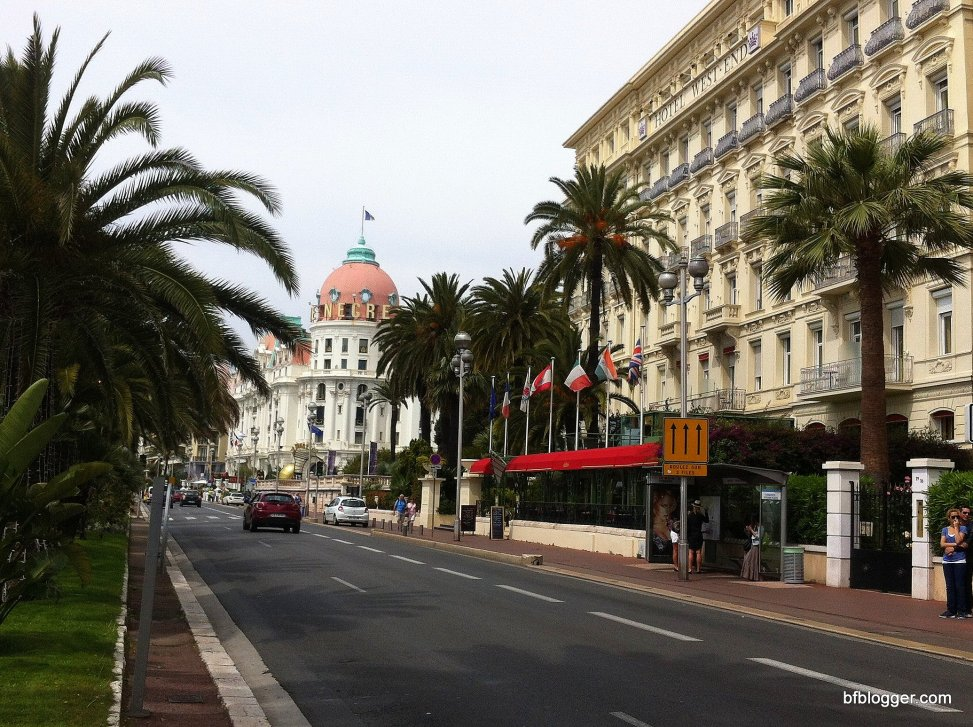 city side of Nice