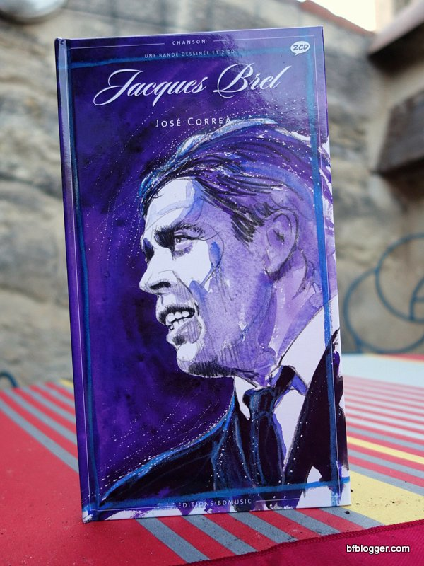 Jacques Brel CD book