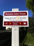 Domaine Saint Firmin in Uzes
