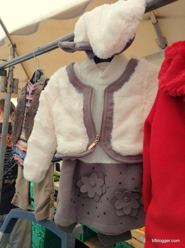 Kid's fashions at the Saturday Market