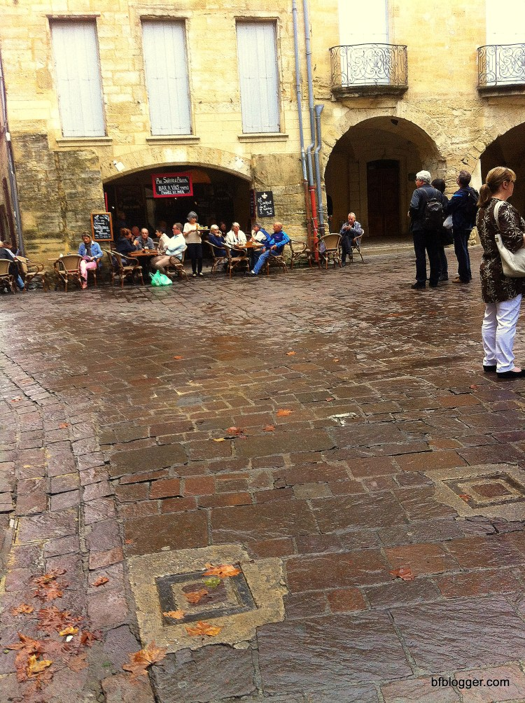 Saturday Market cafes were open but few customers after the October flood