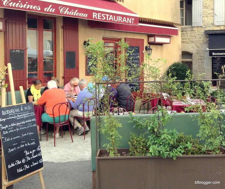 Cafe in Gordes