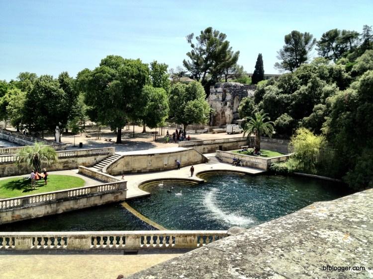 Jardins de la Fontaine in Nimes