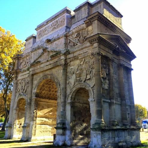 l'Arc de Triomphe in Orange