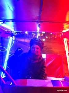 A carriage ride on a chilly December night
